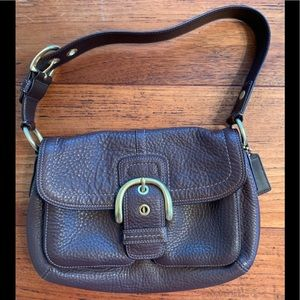 Coach Soho brown shoulder bag